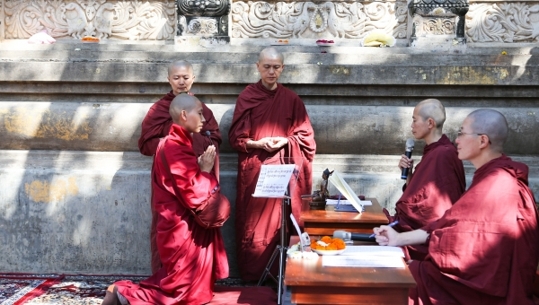 The Historic Revival of Full Ordination for Tibetan Buddhist Nuns