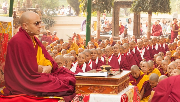 The Karmapa Unfolds His Thoughts about the Bhikshuni Vows